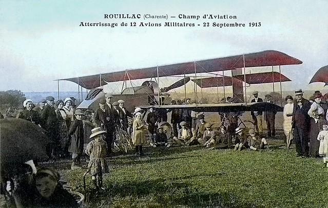 Rouillac, Champ d'Aviation ...