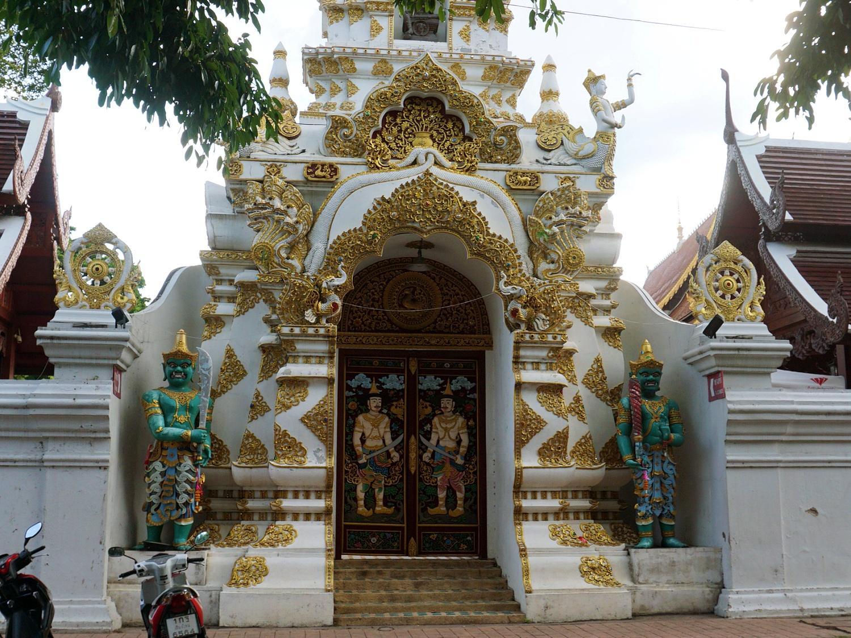 Chiang Mai temple door