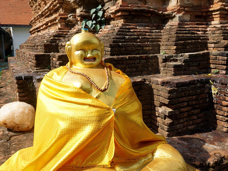 Chiang Mai temple buddha