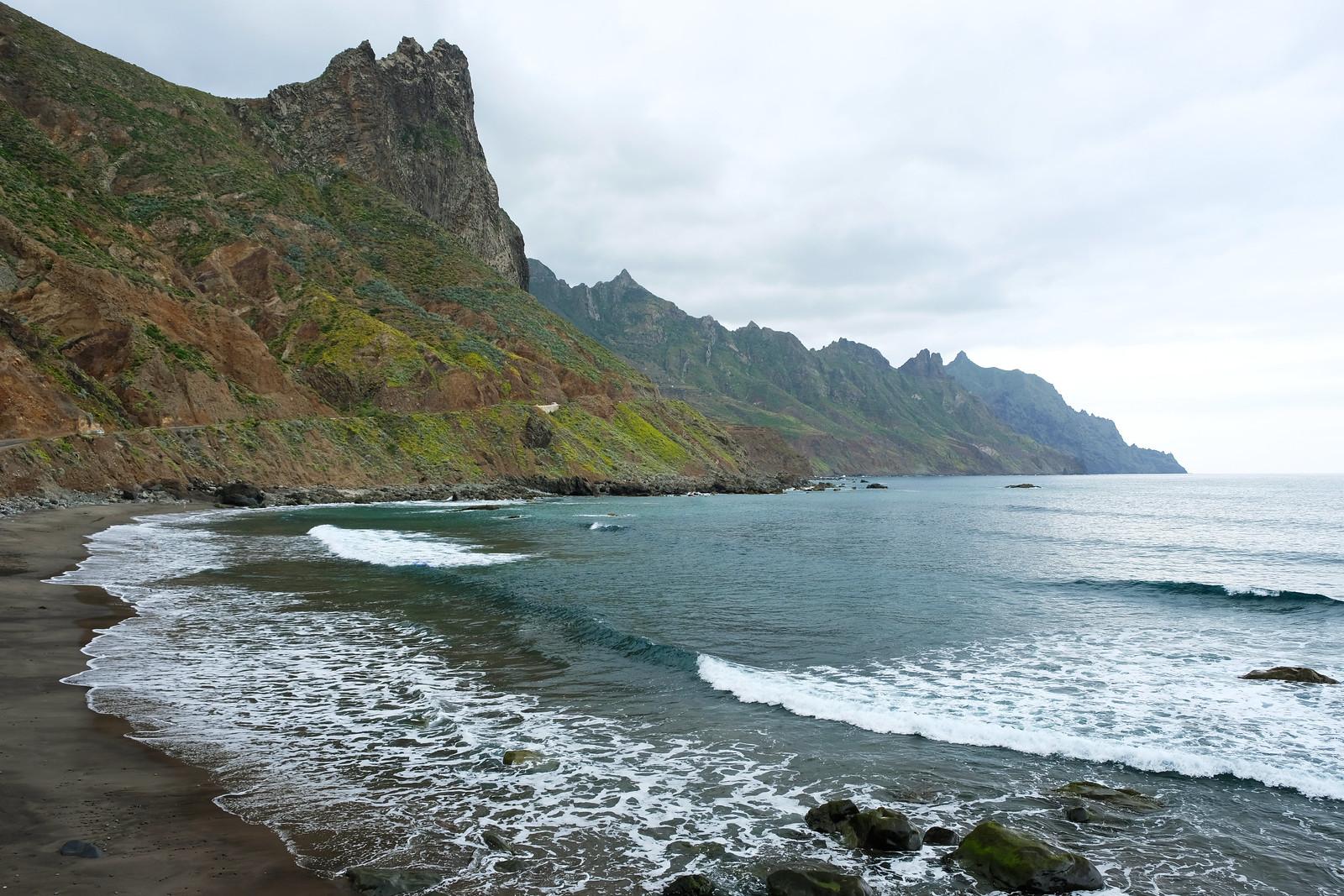 Playa de Roques de las Bodegas, Tenerife, Canary Islands, Spain