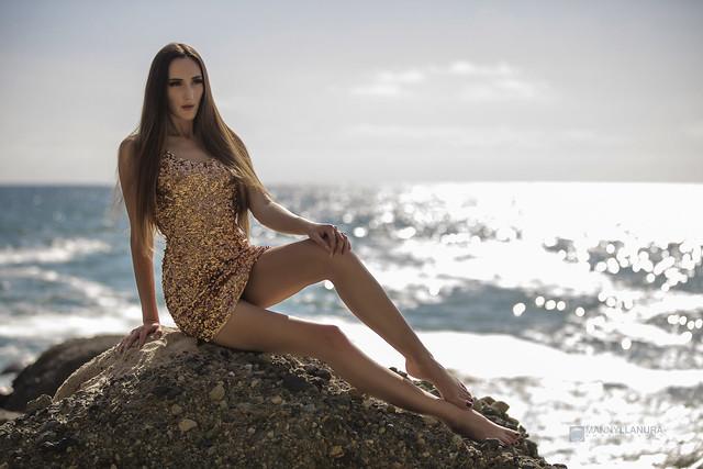 Gabby in Ocean Gold