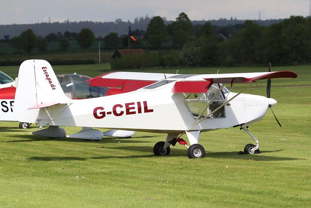G-CEIL  -  Just Aircraft Escapade 912(2) c/n BMAA/HB/506  -  EGTH 22/5/21