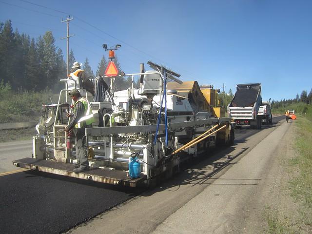 Road resurfacing season underway in northern BC