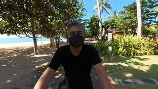 Cycling in Nusa Dua