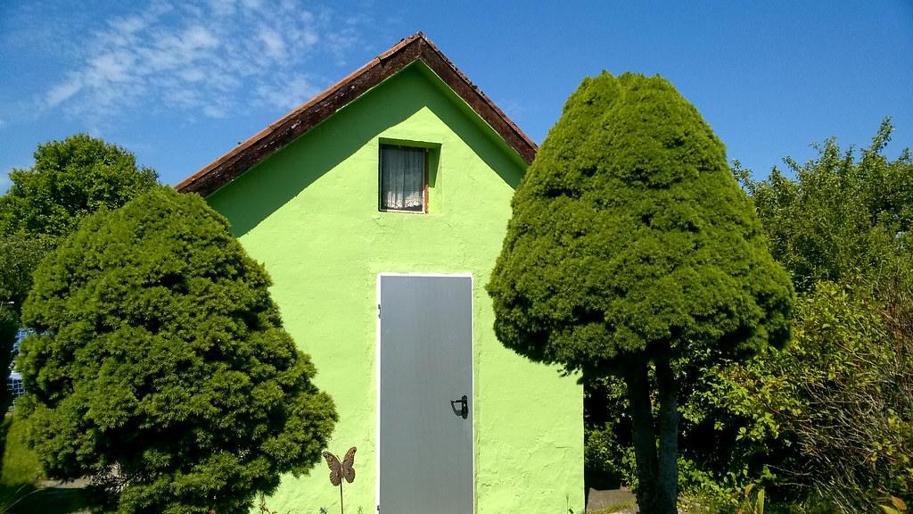 Kleingartenidylle (grün)