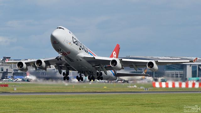 Cargolux 🇱🇺 Boeing 747-400F LX-VCV