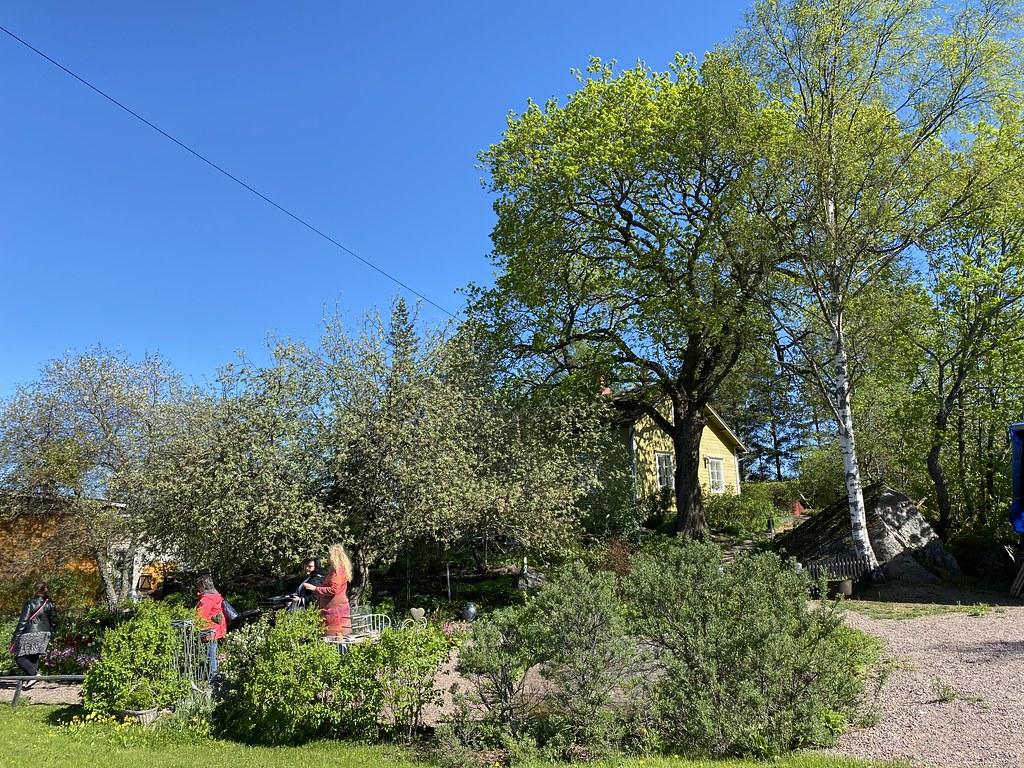 Kauppamuseon puutarha