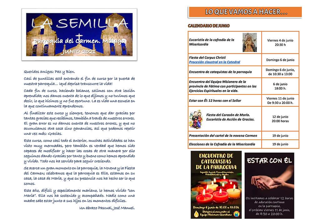 La Semilla (junio 2021)