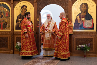 03.06.2021 | Божественная литургия в Юрьевом монастыре