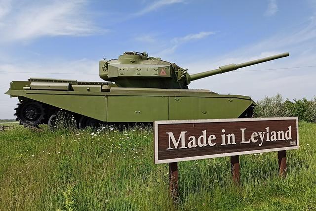 Made in Leyland Centurian MBT