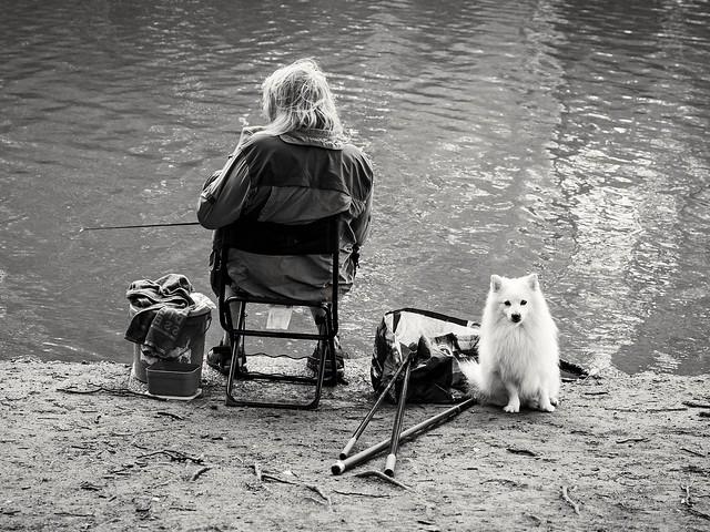 Couple de pêcheurs