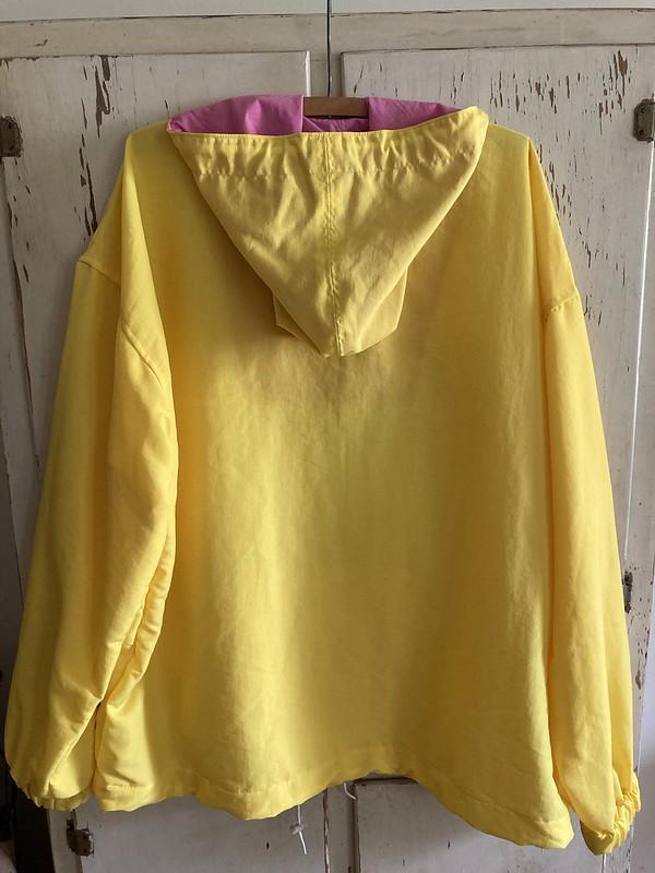 McCall's 5303 Taslan/Supplex Windbreaker and Spring Outfit Challenge Update
