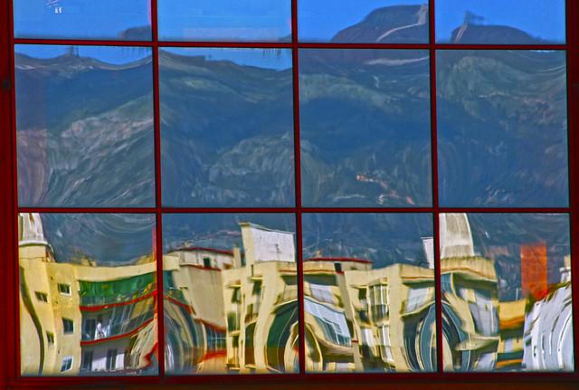 Mirror image of Almuñecar