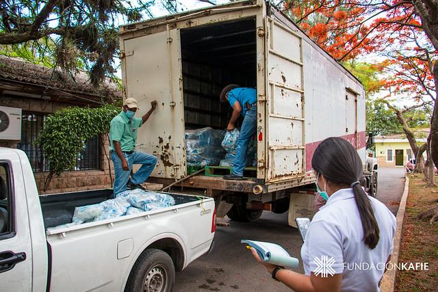 Fundación Kafie y SVC Foundation donan materiales de bioseguridad-higiene a dos hospitales