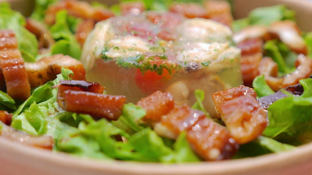 穴子とあさりの土堂サラダスパゲティー