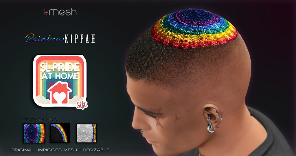 PRIDE Rainbow KIPPAH