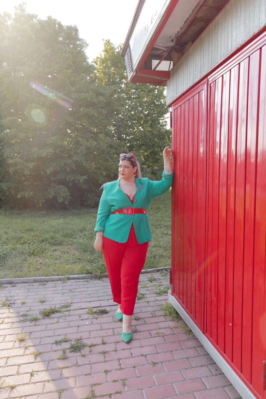 Curvy color challenge rosso e verde (5)