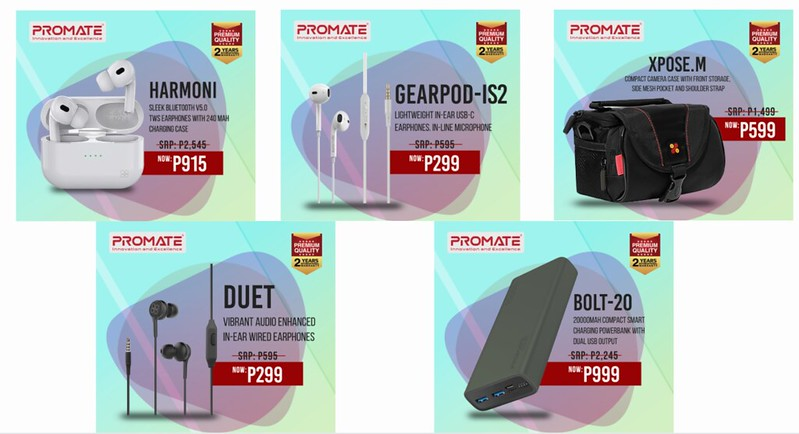 -Upgrade your workstation and get these Promate products for up to 70% off!