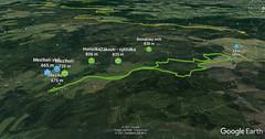 Mezihoří - Bernatský vrch - Kalek