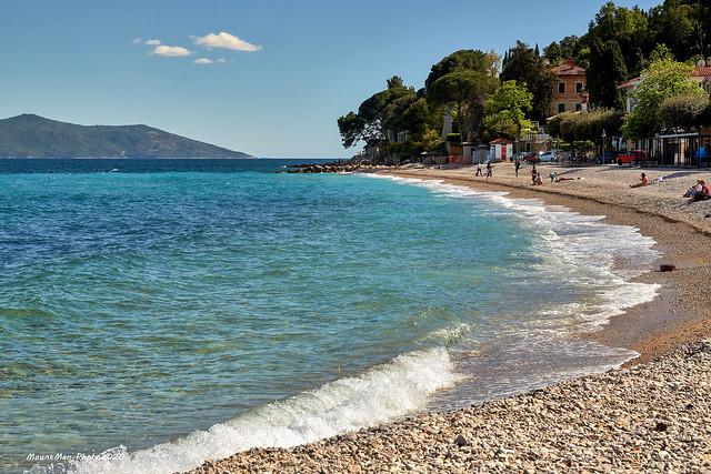 Plaža Sipar u Mošćeničkoj Dragi