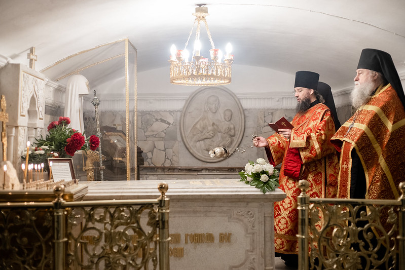 3 июня 2021, Панихида по патриарху Пимену / 3 June 2021, Memorial Service for Patriarch Pimen