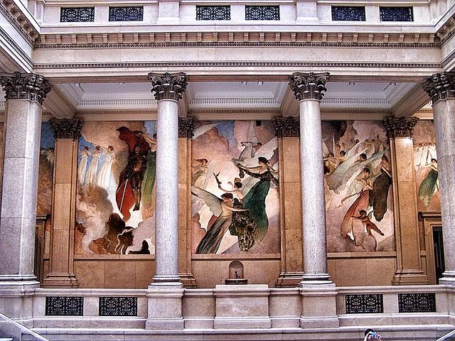 Pittsburgh Pennsylvania ~ Carnegie Museums Of Pittsburgh  Mezzanine  ~  Historic
