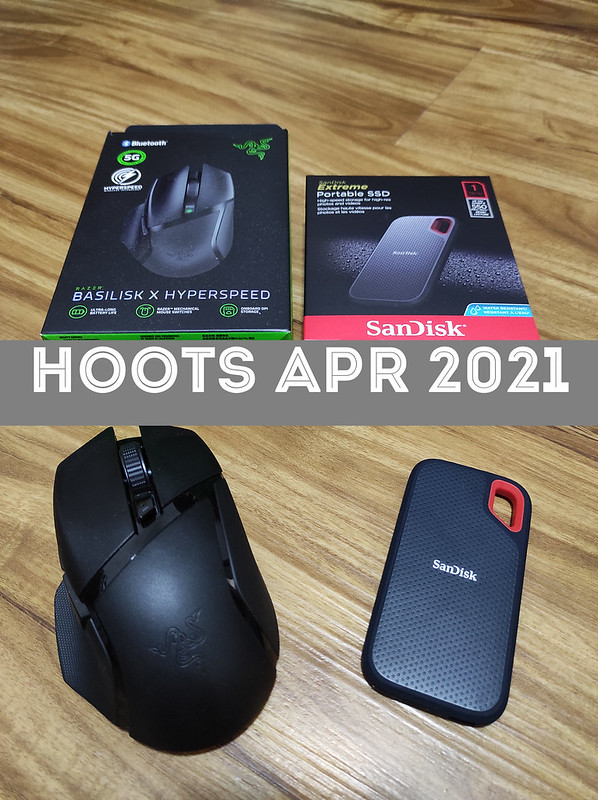 Razer Mouse and Sandisk SSD Hoots