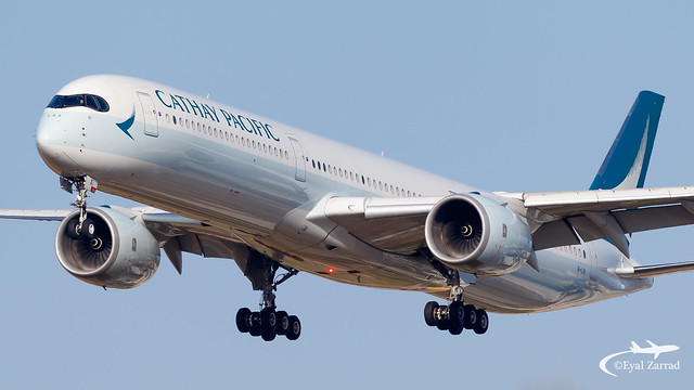 TLV - Cathay Pacific Airbus A350-1000 B-LXI