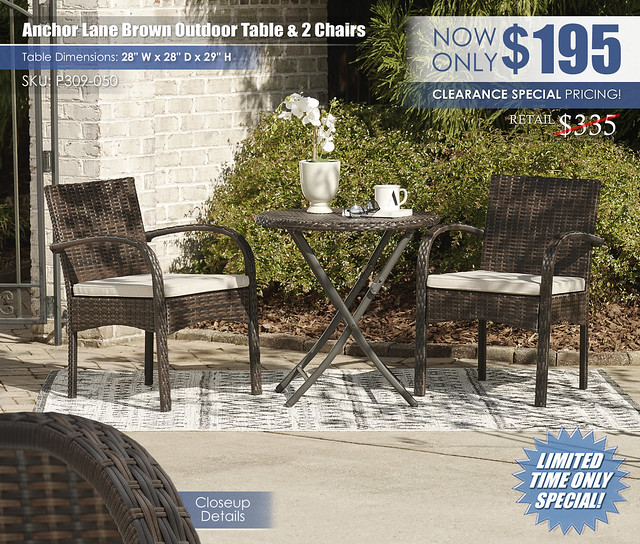 Anchor Lane Brown Outdoor Table and 2 Chairs_P309-050-MOOD-V