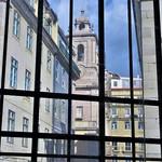 Lisbon - Mercado Ribeira View to Igreja de Santa Maria de Belem
