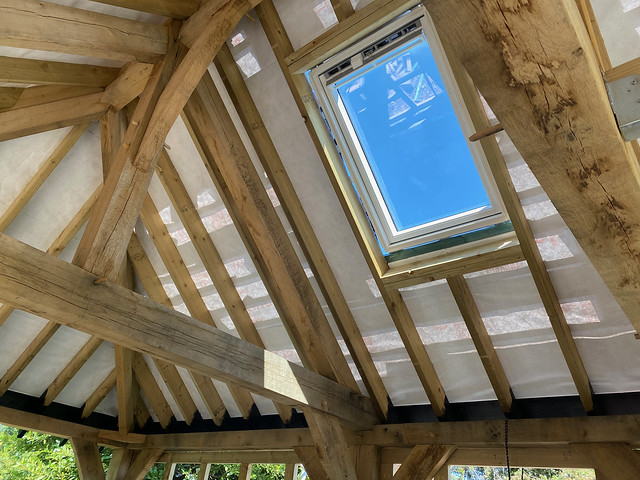 Velux from the inside