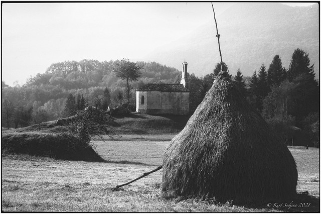 Landscape near Bovec _1991_Leica R5