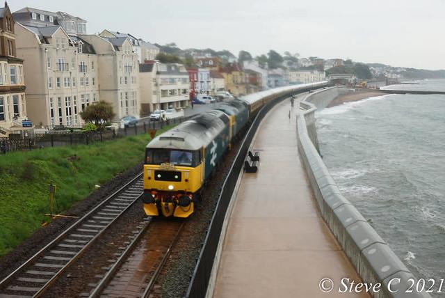 Cornish Riviera Statesman Class 47