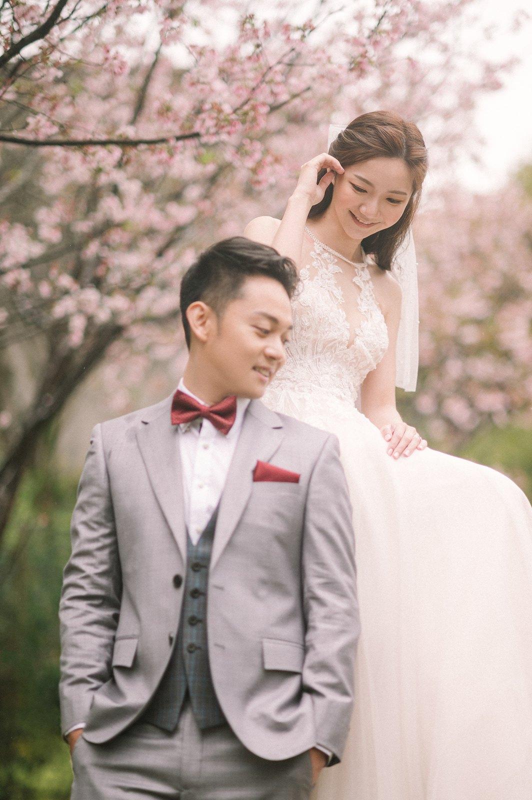 【婚紗】Cathleen & James / 陽明山 / EASTERN WEDDING studio / 華中河濱公園