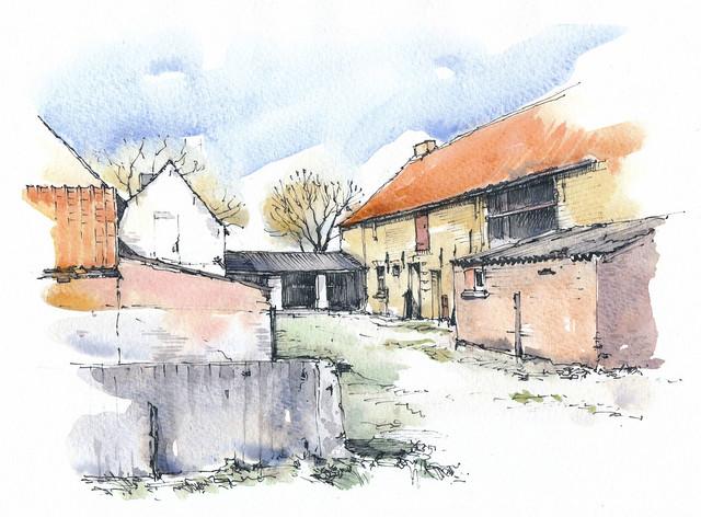 elgië, Westkapelle, Monnikendreef