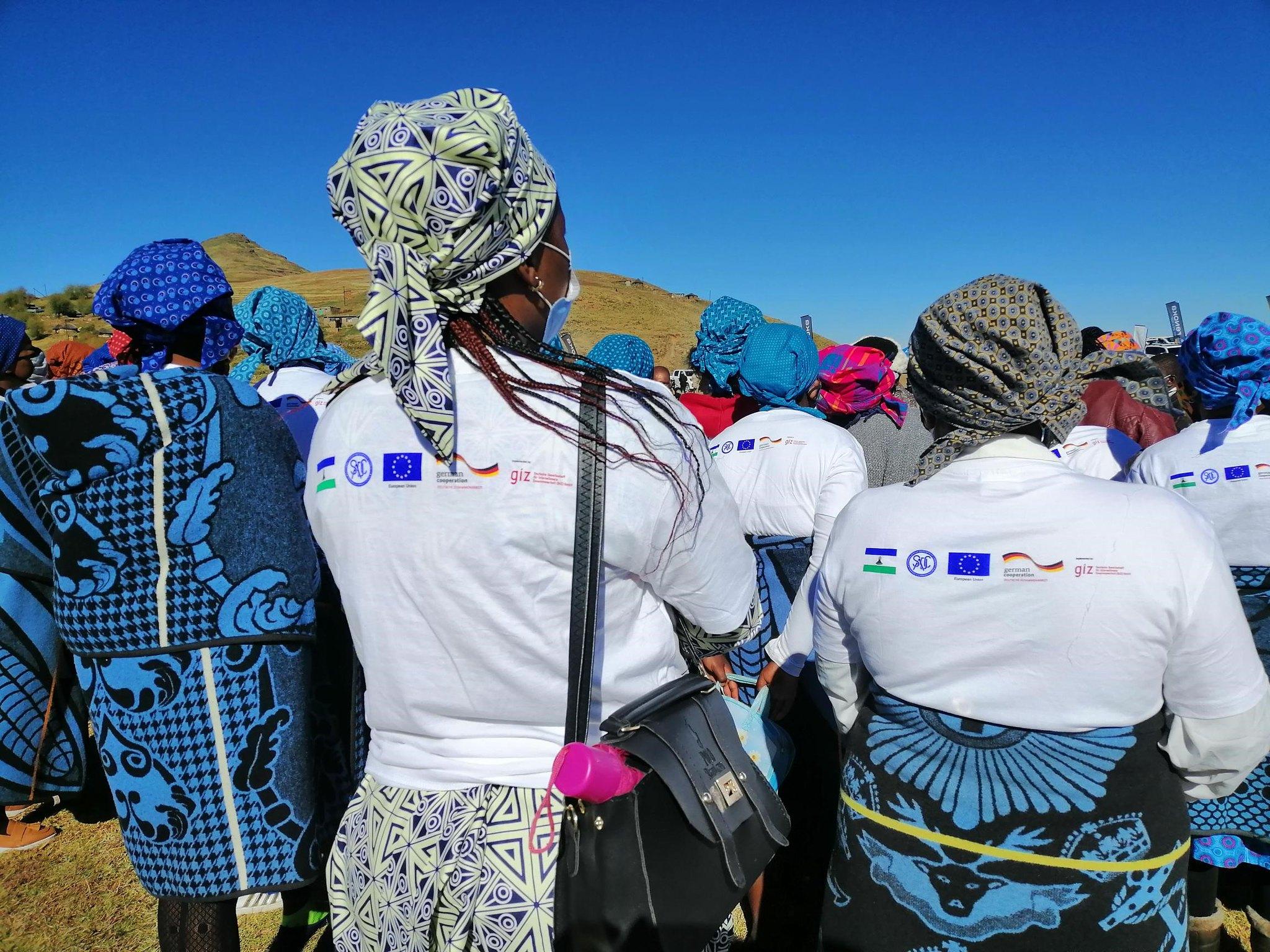 Women's group in attendance