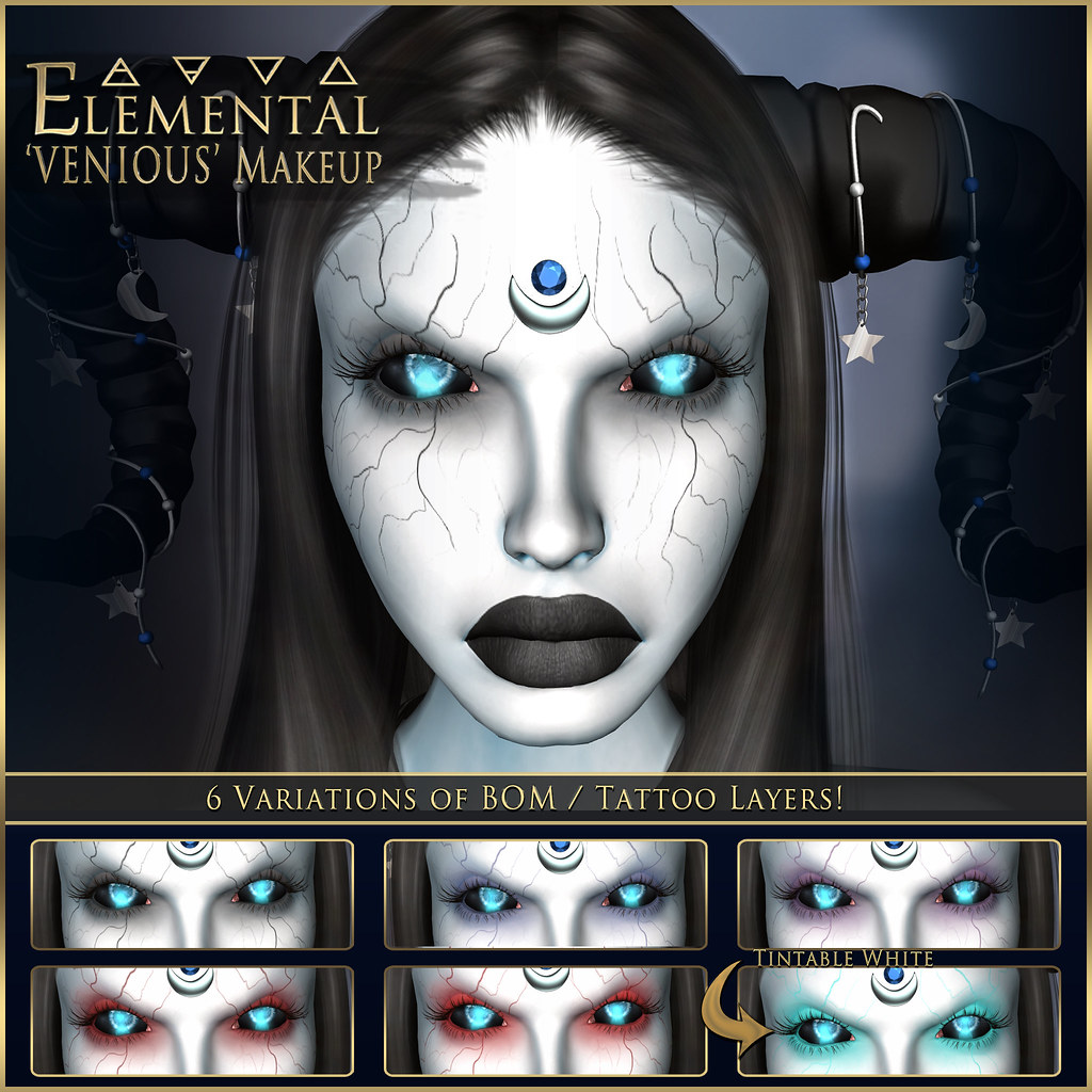 - ELEMENTAL - 'Venious' Makeup BOM advert