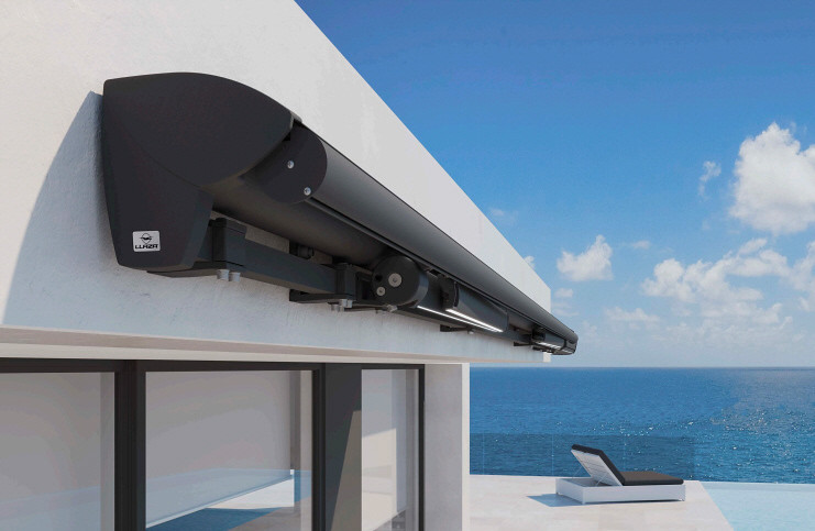 New Modern Architectural Retractable Awning