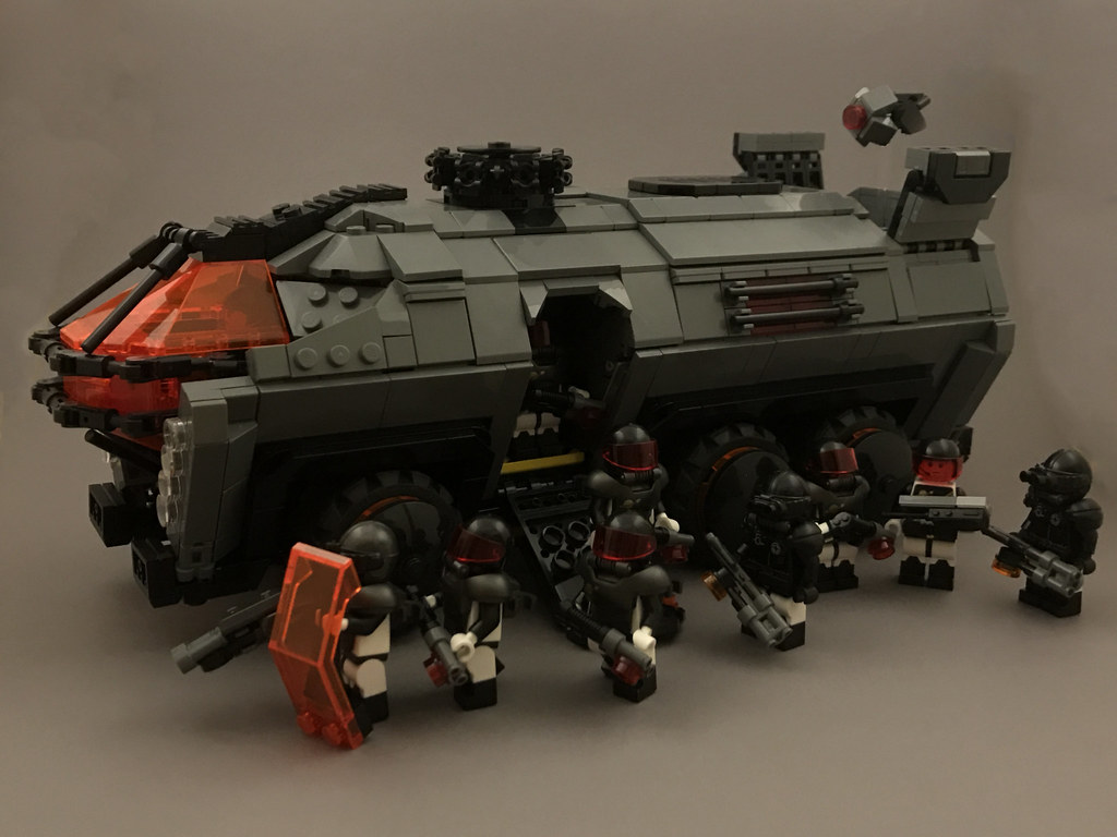 [MOC]Futuron Security Inc. - TLN-2 Armored Personnel Carrier