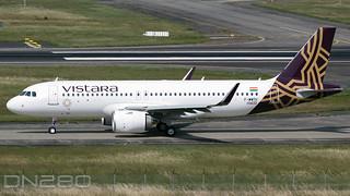 Vistara A320-251N msn 10433 F-WWTU / VT-TYB