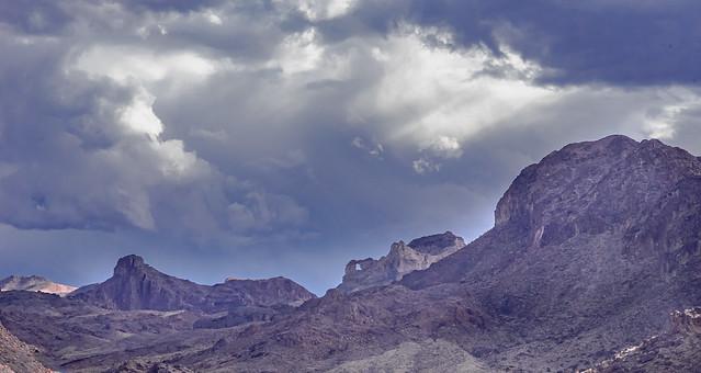 View Along  Lone Palm Trail