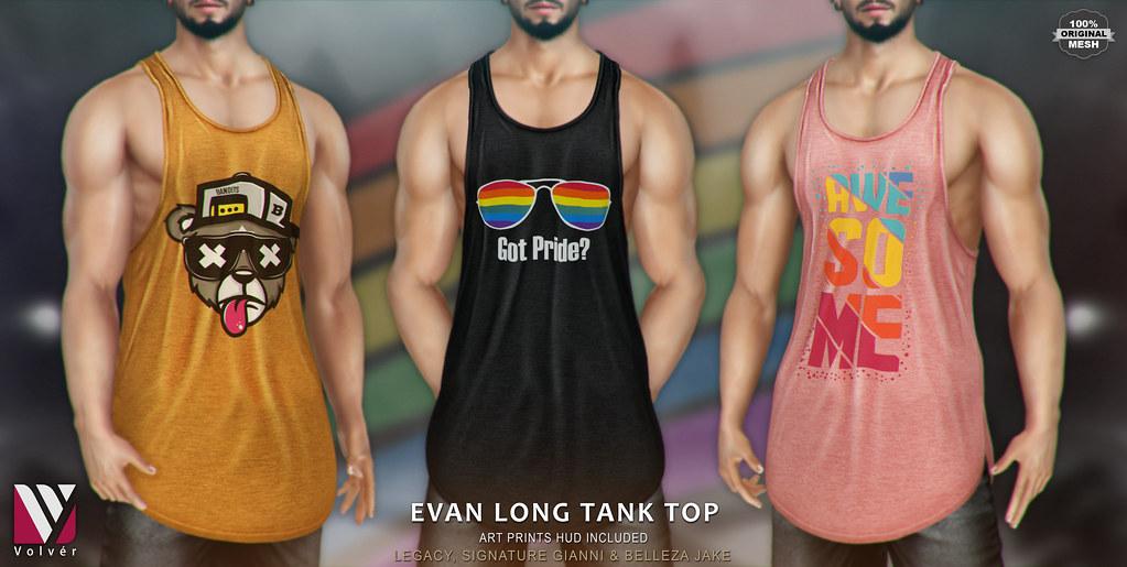 Volvér  – Evan Long Tank Top