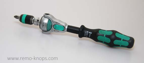 Wera Zyklop 8000 Speed Ratchet review - Hazet 916SP Comparison 8677