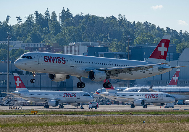 ZRH/LSZH: SwissInternational / Airbus A321-111 - MSN 522 / HB-IOD