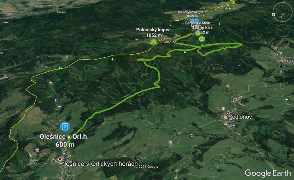 Olešnice - Polomský kopec - Šerlich Orlické hory Czech photo 03