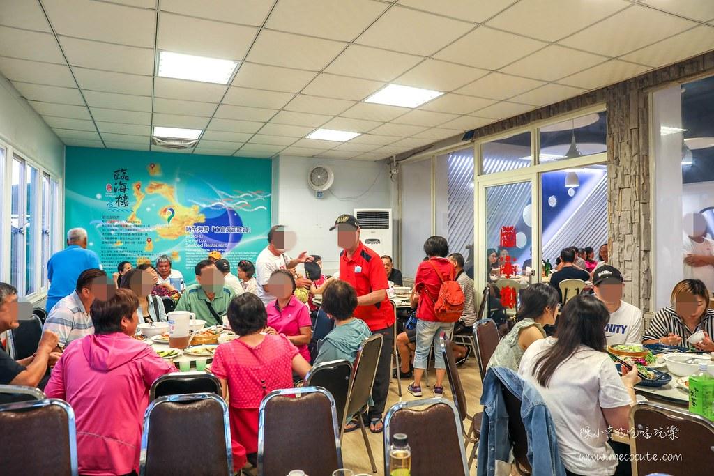這間海鮮餐廳生意爆炸好,創意海膽炒飯像巨大版布丁超壯觀,菜單百元起點滿一桌好滿足的臨海樓海鮮料理