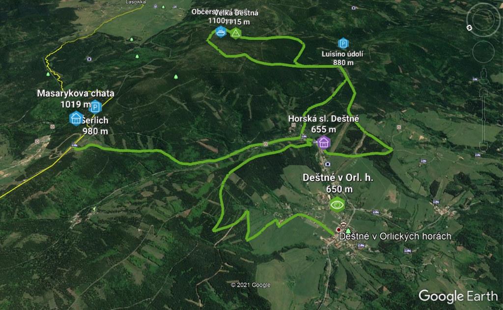 Šerlich - Velká Deštná - Deštné Orlické hory Czech photo 04