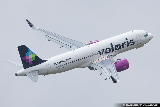 Volaris Airbus A320-271N cn 10348 XA-VRU
