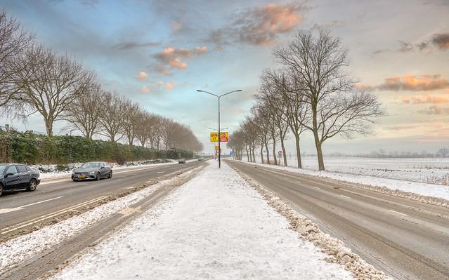 Wintery Westtangent, Heerhugowaard.