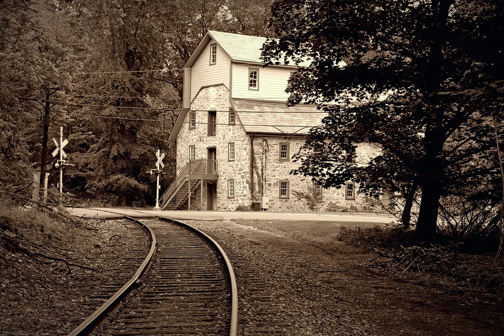 Track and Grist Mill